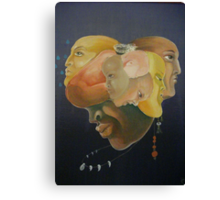 Balance of heart Canvas Print