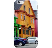 The Colourful Side of Lunenburg iPhone Case/Skin