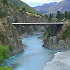 White Bridge, New Zealand by Emma Close