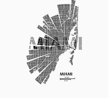 Miami Map Unisex T-Shirt