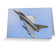Royal Air Force Typhoon of N01 Squadron Greeting Card