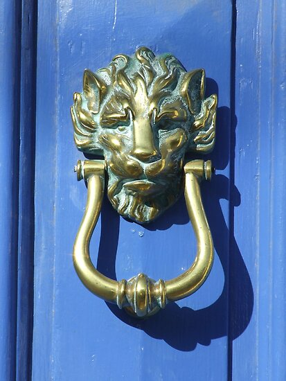 Lion Door Knocker by Mark Wilson