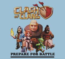 Clash of clans Team prepare for battle by Roaldtom