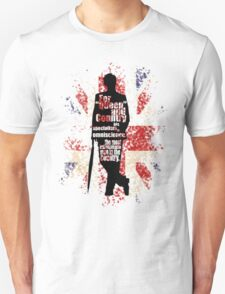 Mycroft (flag) Unisex T-Shirt