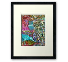 Spiritual Warrior Framed Print