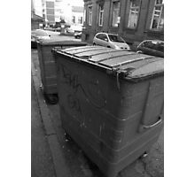 Bins, leeds Photographic Print