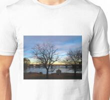 Night Comes Softly and Colorfully  (1430111503VA) Unisex T-Shirt