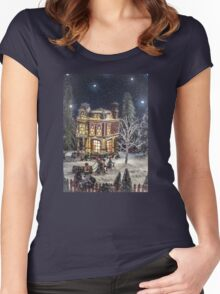 Winter Glow Women's Fitted Scoop T-Shirt