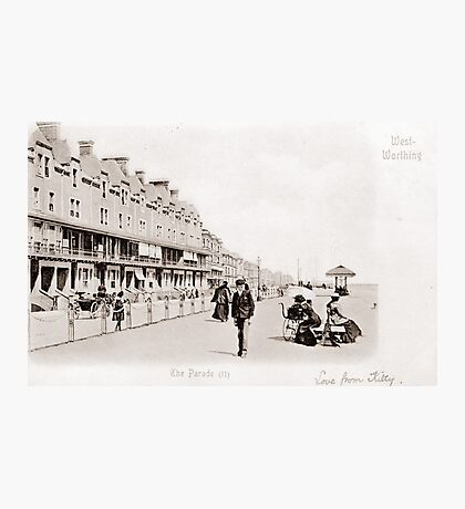 Ref: 21 - Marine Parade, Worthing, West Sussex. Photographic Print