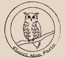 Flocci Non Facio Owl by Terleckyj