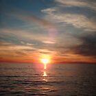Sunset over Santa Monica. by mscristal