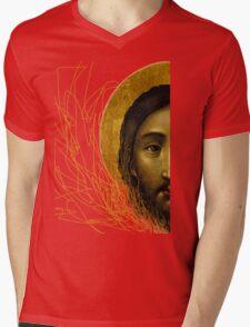 Russian icon  Mens V-Neck T-Shirt