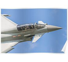 RAF Typhoon Crew Poster