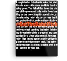 Babel Fish (2) Metal Print