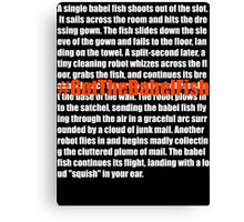 Babel Fish (2) Canvas Print