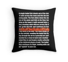 Babel Fish (2) Throw Pillow