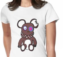 Wild Monkey Tee Womens Fitted T-Shirt