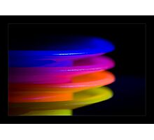 coloured plates Photographic Print