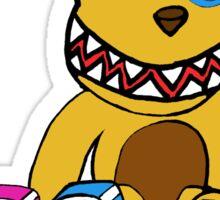 Crazy Nursery Bear Sticker