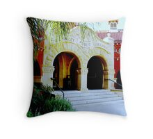 The Library Throw Pillow