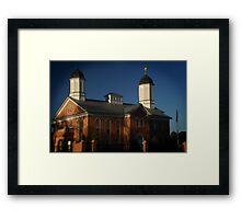 Vernal LDS Temple Framed Print