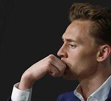 Tom Hiddleston Digital Painting. by Sofie Tyler
