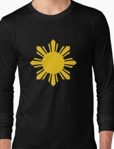 Filipino Sun Long Sleeve T-Shirt