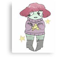 bubblegum space princess. Canvas Print