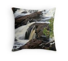 Brownstone Falls - Wisconsin Throw Pillow