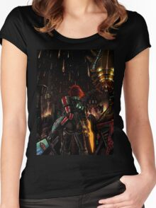 Mass Effect - Shepard told us... Women's Fitted Scoop T-Shirt