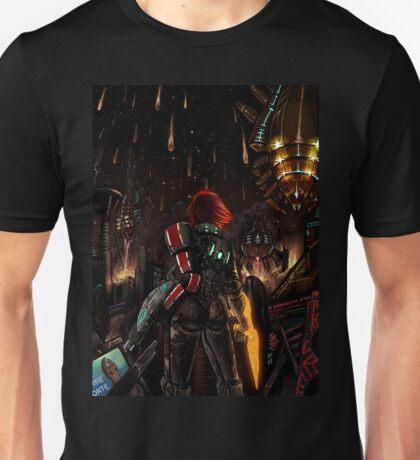 Mass Effect - Shepard told us... Unisex T-Shirt