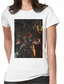 Mass Effect - Shepard told us... Womens Fitted T-Shirt
