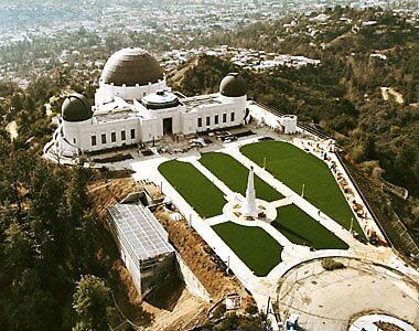 griffith observatory, los angeles, usa by chord0