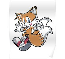 Tails Jumping Poster