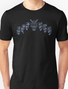 Actraiser (SNES) Death Heim Faces Unisex T-Shirt