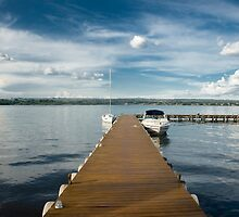 Pier - Paranoa Lake - Brazilia by miguelnetto