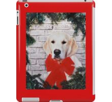 Merry Christmas!! iPad Case/Skin