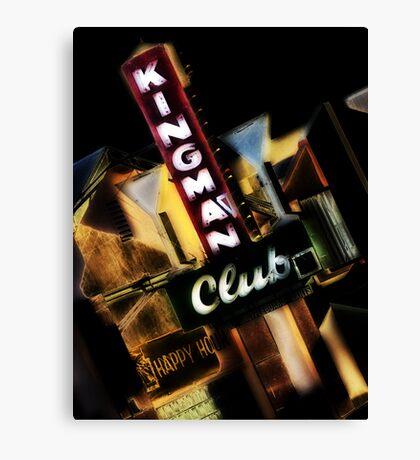 kingman club, route 66, kingman, arizona Canvas Print