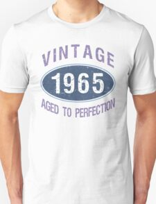 1965 Aged To Perfection Unisex T-Shirt