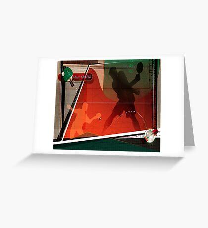 Ping Pong Greeting Card