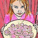 "The Cupcake Princess by Belinda ""BillyLee"" NYE (Printmaker)"
