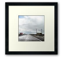 here it is too, route 66, jack rabbit junction, arizona Framed Print