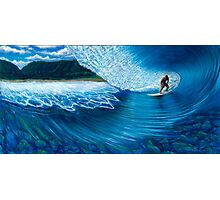 Kalani Deep, Pipeline Hawaii Photographic Print