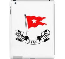 White Star Line iPad Case/Skin