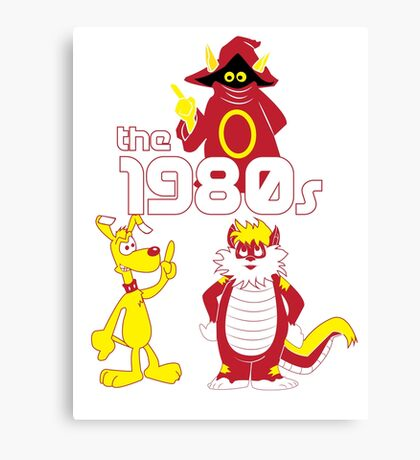 The 1980s Canvas Print