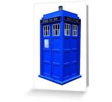 The Tardis Greeting Card