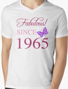 Fabulous Since 1965 Mens V-Neck T-Shirt