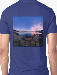 Dusk Shoreline near Moville, Donegal (Rectangular) T-Shirt