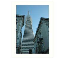 SF's Transamerica Pyramid Art Print