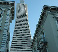 SF's Transamerica Pyramid by Karlita246